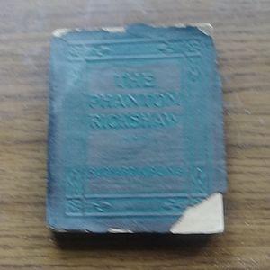 Phantom rickshaw leather pocket book